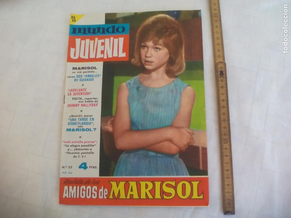 REVISTA O COMIC MUNDO JUVENIL, AMIGOS DE MARISOL, Nº 22, 1963, (Tebeos y Comics - Bruguera - Otros)