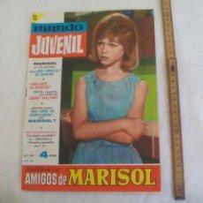 Tebeos: REVISTA O COMIC MUNDO JUVENIL, AMIGOS DE MARISOL, Nº 22, 1963,. Lote 171418113