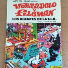 Tebeos: ASES DEL HUMOR. MORTADELO Y FILEMON. LOS AGENTES DE LA TIA. 1979. Lote 171436639