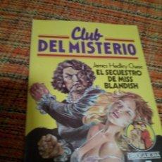 Tebeos: CLUB DEL MISTERIO BRUGUERA N 7. Lote 171464363
