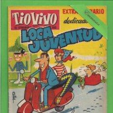Tebeos: TIO VIVO - Nº 112 - EXTRAORDINARIO DEDICADO A LA LOCA JUVENTUD - CRISOL/BRUGUERA. (1959).. Lote 171501259