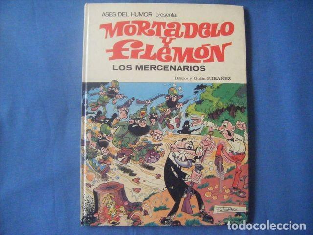 COMIC MORTADELO Y FILEMON Nº 40 LOS MERCENARIOS 1ª ED 1980 IBAÑEZ ASES DEL HUMOR TAPA DURA BRUGUERA (Tebeos y Comics - Bruguera - Mortadelo)