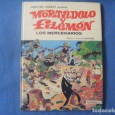 Tebeos: COMIC MORTADELO Y FILEMON Nº 40 LOS MERCENARIOS 1ª ED 1980 IBAÑEZ ASES DEL HUMOR TAPA DURA BRUGUERA. Lote 171513620