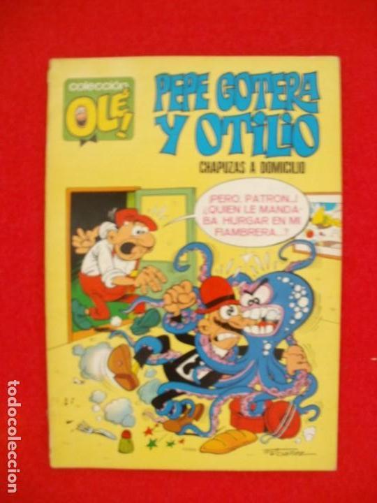 COLECCION OLE PEPE GOTERA Y OTILIO CHAPUZAS A DOMICILIO Nº 1 1971 1ª EDICION (Tebeos y Comics - Bruguera - Ole)