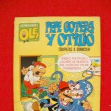 Tebeos: COLECCION OLE PEPE GOTERA Y OTILIO CHAPUZAS A DOMICILIO Nº 1 1971 1ª EDICION. Lote 171528823
