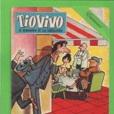 Tebeos: TIO VIVO - Nº 160 - SEMANARIO DE HUMOR PARA MAYORES - BRUGUERA. (1960).. Lote 171583315