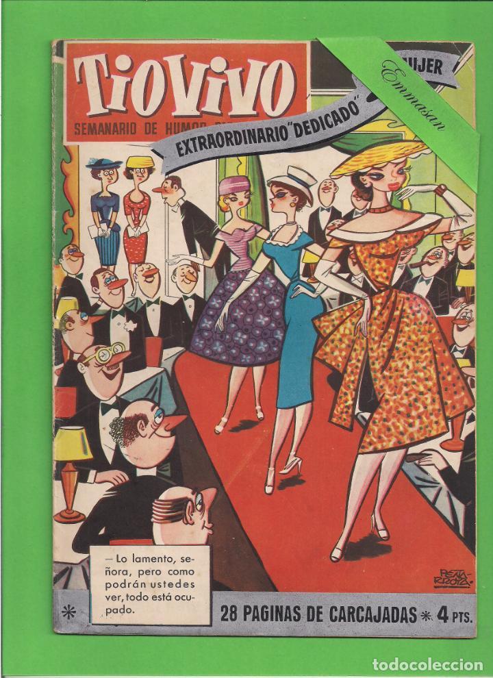 TIO VIVO - Nº 2 - EXTRAORDINARIO ''DEDICADO'' A LA MUJER - BRUGUERA. (1957). (Tebeos y Comics - Bruguera - Tio Vivo)