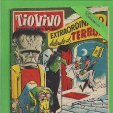 Tebeos: TIO VIVO - Nº 6 - EXTRAORDINARIO - DEDICADO AL TERROR - BRUGUERA. (1958).. Lote 171597395