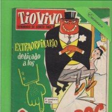 Tebeos: TIO VIVO - Nº 46 - EXTRAORDINARIO - DEDICADO A LOS GAMBERROS - BRUGUERA. (1958).. Lote 171597502