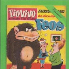 Tebeos: TIO VIVO - Nº 90 - EXTRAORDINARIO - DEDICARIO A LOS FEOS - BRUGUERA. (1966).. Lote 171597977