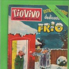 Tebeos: TIO VIVO - Nº 129 - EXTRAORDINARIO - DEDICADO AL FRÍO - BRUGUERA. (1959).. Lote 171598473