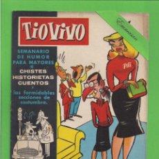 Livros de Banda Desenhada: TIO VIVO - Nº 38 - SEMANARIO DE HUMOR PARA MAYORES - CRISOL / BRUGUERA. (1957).. Lote 171602064