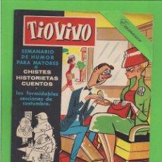 Livros de Banda Desenhada: TIO VIVO - Nº 39 - SEMANARIO DE HUMOR PARA MAYORES - CRISOL / BRUGUERA. (1958).. Lote 171602702