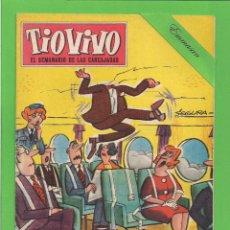 Tebeos: TIO VIVO - Nº 153 - SEMANARIO DE LAS CARCAJADAS - CRISOL / BRUGUERA. (1960).. Lote 171604174