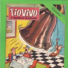 Tebeos: TIO VIVO - Nº 154 - SEMANARIO DE LAS CARCAJADAS - CRISOL / BRUGUERA. (1960).. Lote 171604403