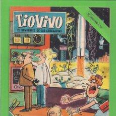 Tebeos: TIO VIVO - Nº 156 - SEMANARIO DE LAS CARCAJADAS - CRISOL / BRUGUERA. (1960).. Lote 171604708