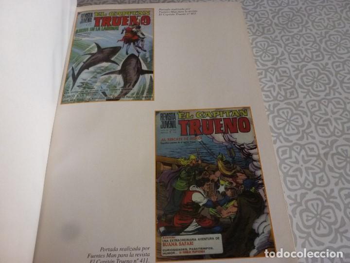 Tebeos: EL CAPITAN TRUENO EXTRA ENCUADERNACIÓN LUJO 3 TOMOS-(1ª EDICIÓN 1998) TOTAL 31 EJEMPLARES COMO NUEVO - Foto 3 - 171614204