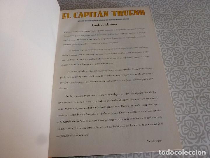 Tebeos: EL CAPITAN TRUENO EXTRA ENCUADERNACIÓN LUJO 3 TOMOS-(1ª EDICIÓN 1998) TOTAL 31 EJEMPLARES COMO NUEVO - Foto 4 - 171614204