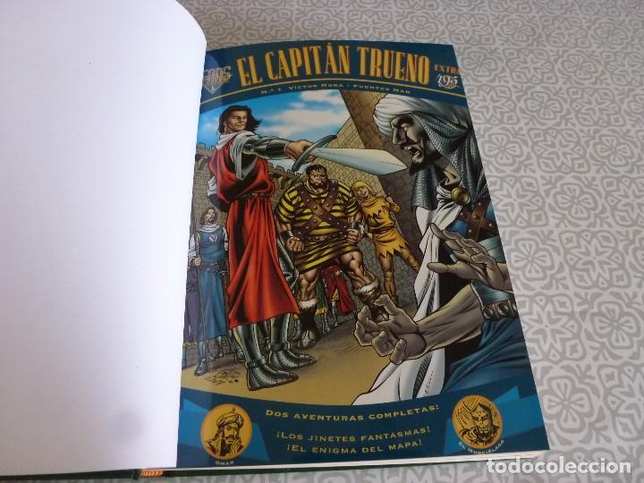 Tebeos: EL CAPITAN TRUENO EXTRA ENCUADERNACIÓN LUJO 3 TOMOS-(1ª EDICIÓN 1998) TOTAL 31 EJEMPLARES COMO NUEVO - Foto 6 - 171614204