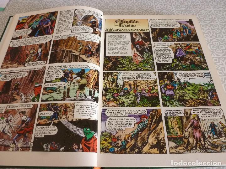 Tebeos: EL CAPITAN TRUENO EXTRA ENCUADERNACIÓN LUJO 3 TOMOS-(1ª EDICIÓN 1998) TOTAL 31 EJEMPLARES COMO NUEVO - Foto 7 - 171614204