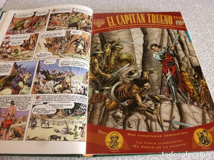 Tebeos: EL CAPITAN TRUENO EXTRA ENCUADERNACIÓN LUJO 3 TOMOS-(1ª EDICIÓN 1998) TOTAL 31 EJEMPLARES COMO NUEVO - Foto 8 - 171614204