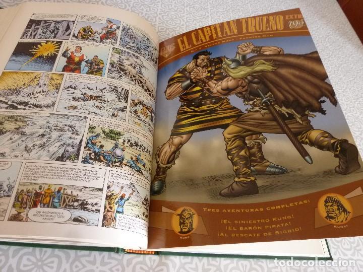 Tebeos: EL CAPITAN TRUENO EXTRA ENCUADERNACIÓN LUJO 3 TOMOS-(1ª EDICIÓN 1998) TOTAL 31 EJEMPLARES COMO NUEVO - Foto 10 - 171614204