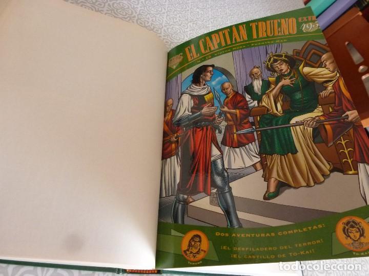 Tebeos: EL CAPITAN TRUENO EXTRA ENCUADERNACIÓN LUJO 3 TOMOS-(1ª EDICIÓN 1998) TOTAL 31 EJEMPLARES COMO NUEVO - Foto 11 - 171614204