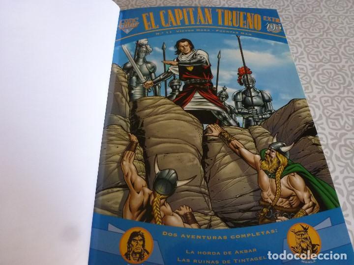Tebeos: EL CAPITAN TRUENO EXTRA ENCUADERNACIÓN LUJO 3 TOMOS-(1ª EDICIÓN 1998) TOTAL 31 EJEMPLARES COMO NUEVO - Foto 16 - 171614204