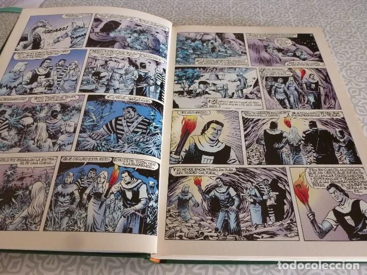 Tebeos: EL CAPITAN TRUENO EXTRA ENCUADERNACIÓN LUJO 3 TOMOS-(1ª EDICIÓN 1998) TOTAL 31 EJEMPLARES COMO NUEVO - Foto 17 - 171614204