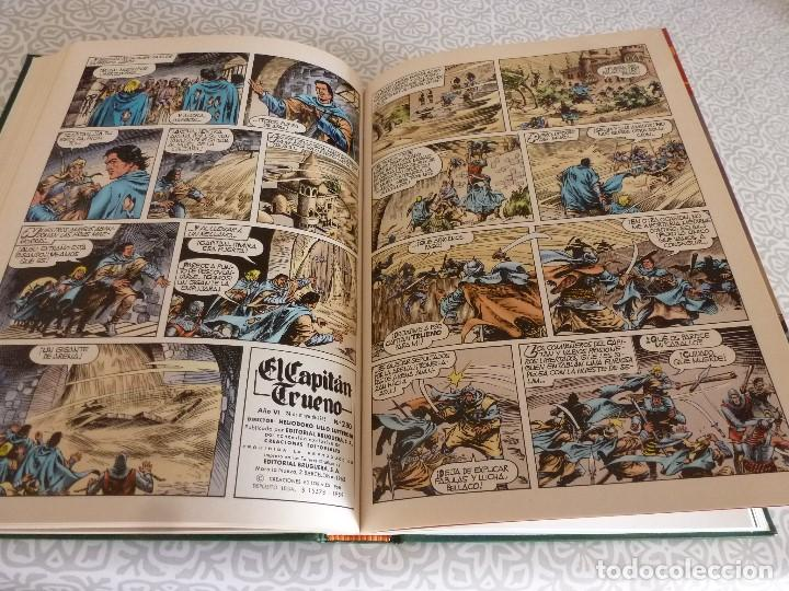 Tebeos: EL CAPITAN TRUENO EXTRA ENCUADERNACIÓN LUJO 3 TOMOS-(1ª EDICIÓN 1998) TOTAL 31 EJEMPLARES COMO NUEVO - Foto 19 - 171614204