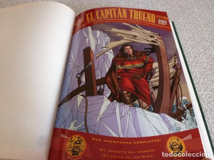 Tebeos: EL CAPITAN TRUENO EXTRA ENCUADERNACIÓN LUJO 3 TOMOS-(1ª EDICIÓN 1998) TOTAL 31 EJEMPLARES COMO NUEVO - Foto 20 - 171614204