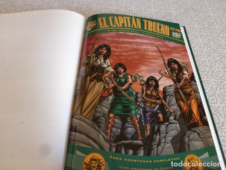 Tebeos: EL CAPITAN TRUENO EXTRA ENCUADERNACIÓN LUJO 3 TOMOS-(1ª EDICIÓN 1998) TOTAL 31 EJEMPLARES COMO NUEVO - Foto 21 - 171614204