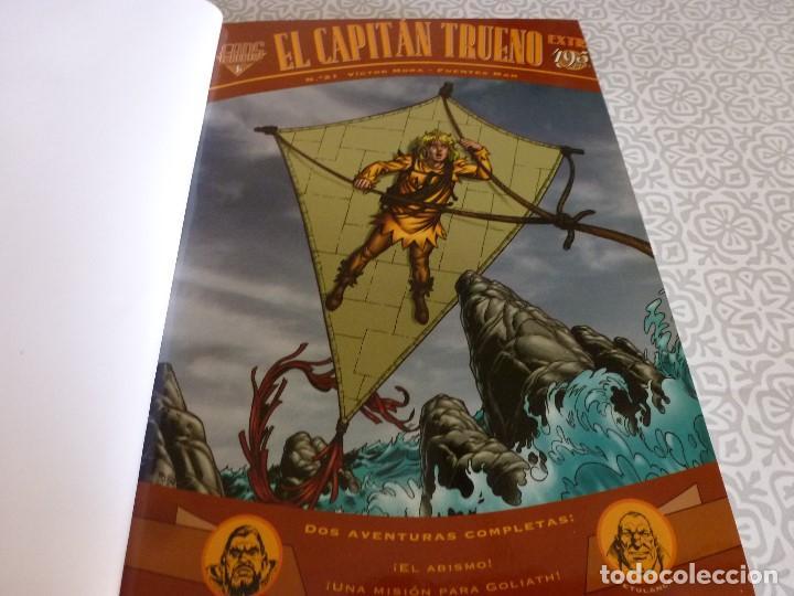 Tebeos: EL CAPITAN TRUENO EXTRA ENCUADERNACIÓN LUJO 3 TOMOS-(1ª EDICIÓN 1998) TOTAL 31 EJEMPLARES COMO NUEVO - Foto 24 - 171614204