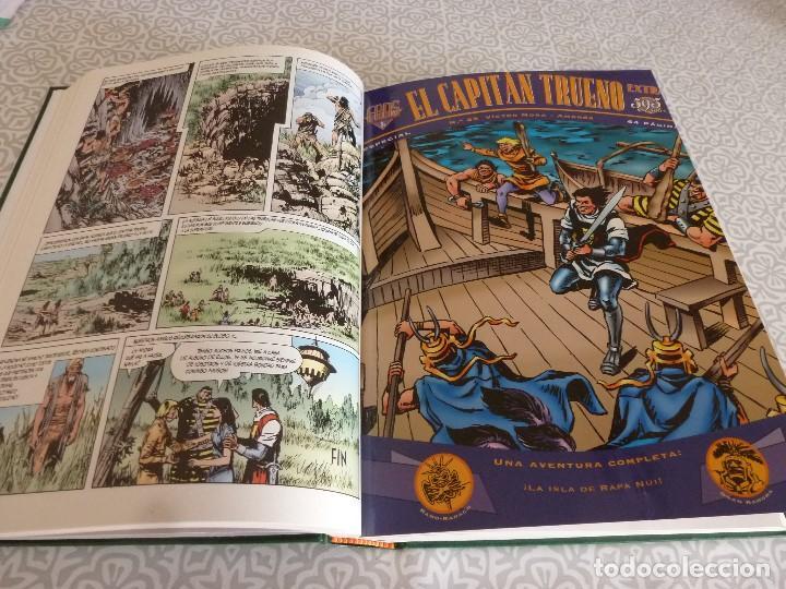Tebeos: EL CAPITAN TRUENO EXTRA ENCUADERNACIÓN LUJO 3 TOMOS-(1ª EDICIÓN 1998) TOTAL 31 EJEMPLARES COMO NUEVO - Foto 25 - 171614204