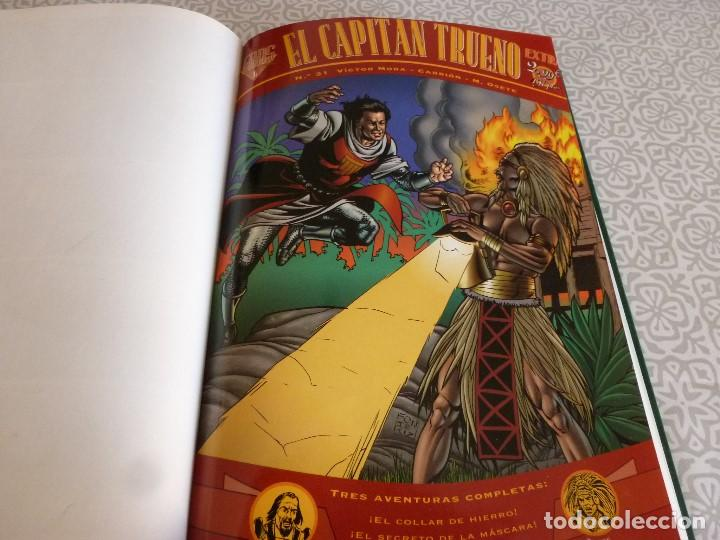 Tebeos: EL CAPITAN TRUENO EXTRA ENCUADERNACIÓN LUJO 3 TOMOS-(1ª EDICIÓN 1998) TOTAL 31 EJEMPLARES COMO NUEVO - Foto 27 - 171614204
