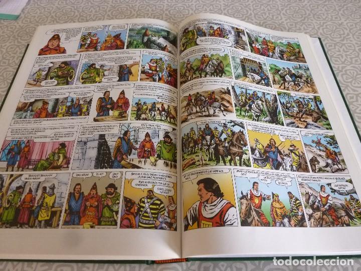 Tebeos: EL CAPITAN TRUENO EXTRA ENCUADERNACIÓN LUJO 3 TOMOS-(1ª EDICIÓN 1998) TOTAL 31 EJEMPLARES COMO NUEVO - Foto 28 - 171614204