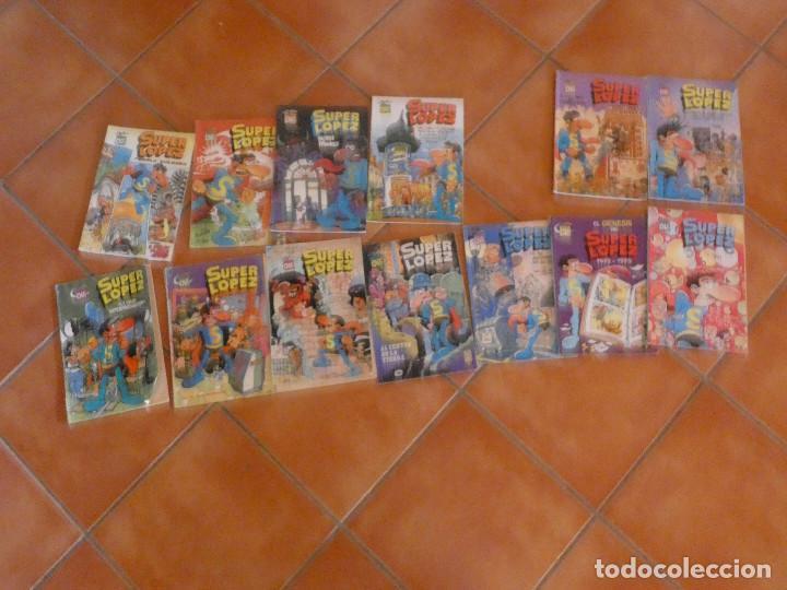 LOTE 13 SUPER LOPEZ OLÉ AÑOS 80 Y 90 CON MUCHAS PRIMERAS EDICIONES VER LISTA (Tebeos y Comics - Bruguera - Ole)