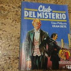Tebeos: CLUB DEL MISTERIO - N° 133 ERAN SIETE - BRUGUERA . Lote 171688434