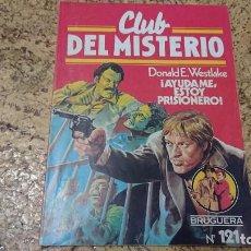 Tebeos: CLUB DEL MISTERIO - N° 121 AYÚDAME ESTOY PRISIONERO - BRUGUERA . Lote 171688647
