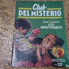 Tebeos: CLUB DEL MISTERIO - N° 20 LOS AVENTUREROS - BRUGUERA . Lote 171688980