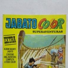 Tebeos: JABATO COLOR SUPERAVENTURAS, EXTRA, Nº 35, SEGUNDA EPOCA, AÑO 1977. Lote 171692094