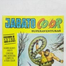 Tebeos: JABATO COLOR SUPERAVENTURAS, EXTRA, Nº 37, SEGUNDA EPOCA, AÑO 1977. Lote 171692157