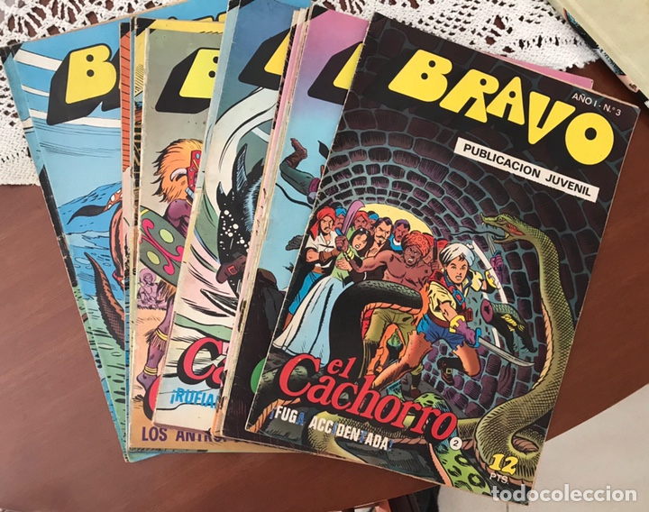 EL CACHORRO DE BRAVO (Tebeos y Comics - Bruguera - Bravo)
