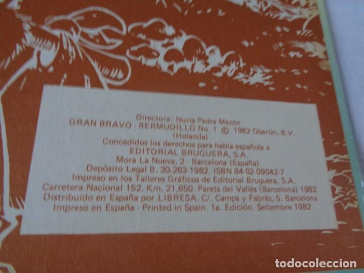 Tebeos: GRAN BRAVO SUPER HUMOR BERMUDILLO EL GENIO DEL HATILLO. BRUGUERA 1ª ED 1982. RARO. - Foto 10 - 171734909