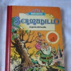 Tebeos: GRAN BRAVO SUPER HUMOR BERMUDILLO EL GENIO DEL HATILLO. BRUGUERA 1ª ED 1982. RARO.. Lote 171734909
