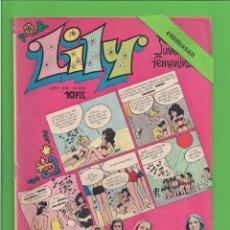 Tebeos: LILY - Nº 652 - REVISTA JUVENIL FEMENINA - BRUGUERA - (1974) - CON EL PÓSTER DE LORENZO SANTAMARÍA.. Lote 171754365