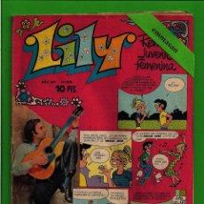 Tebeos: LILY - Nº 688 - REVISTA JUVENIL FEMENINA - BRUGUERA - (1975) - CON EL PÓSTER DONNA HIGHTOWER.. Lote 171761250