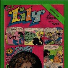 Tebeos: LILY - Nº 700 - REVISTA JUVENIL FEMENINA - BRUGUERA - (1975) - CON EL PÓSTER DE PACO DE LUCÍA.. Lote 171762309