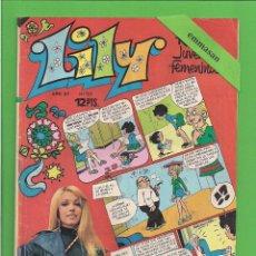 Tebeos: LILY - Nº 727 - REVISTA JUVENIL FEMENINA - BRUGUERA - (1975) - CON EL PÓSTER LUIS LUCENA.. Lote 171767479