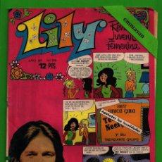 Tebeos: LILY - Nº 729 - REVISTA JUVENIL FEMENINA - BRUGUERA - (1975) - CON EL PÓSTER DE TED NEELEY.. Lote 171767717